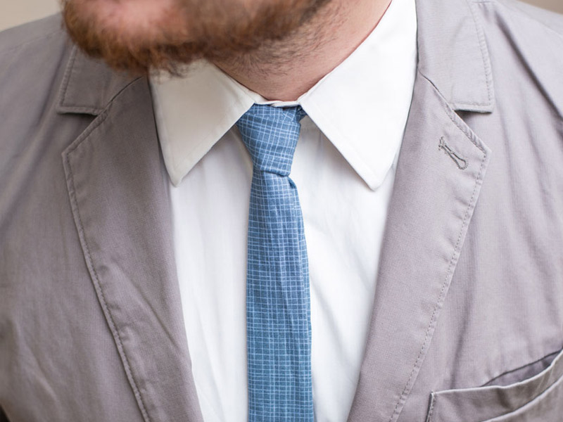 Schnittmuster Krawatte Arne