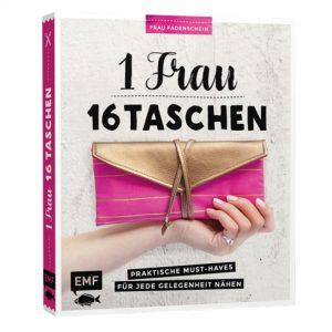 Buch 1 Frau – 16 Taschen EMF-Verlag Frau Fadenschein