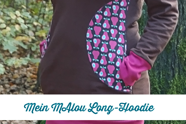 MAlou Long-Hoodie von Frau Liebstes - Frau Fadenschein