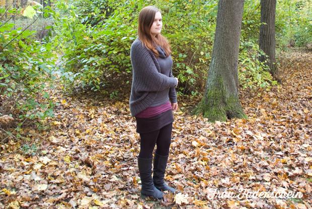Gehäkelte Jacke Für Den Herbst Anleitung Frau Fadenschein