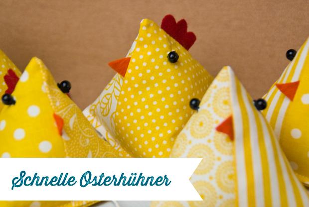 Schnelle Osterhühner Diy Frau Fadenschein