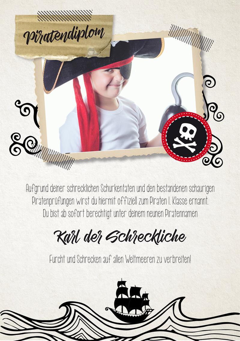 Piratenparrrty Mit Kostenlosem Printable Zum Download