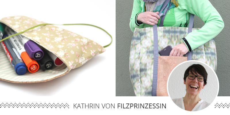 """Blogparty zu meinem Buch """"1 Frau – 16 Taschen"""""""