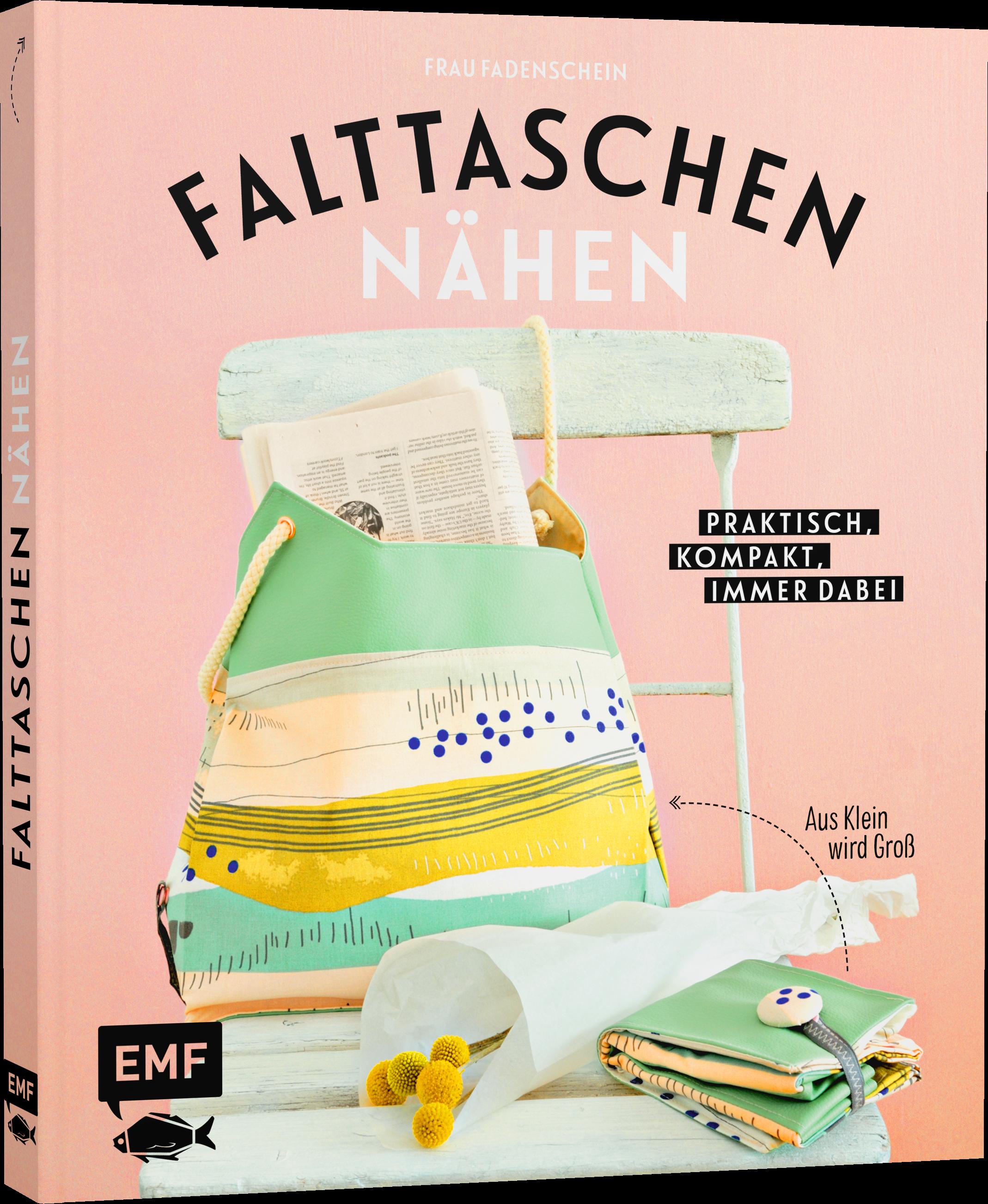 Mein neues Buch ist da: Falttaschen nähen