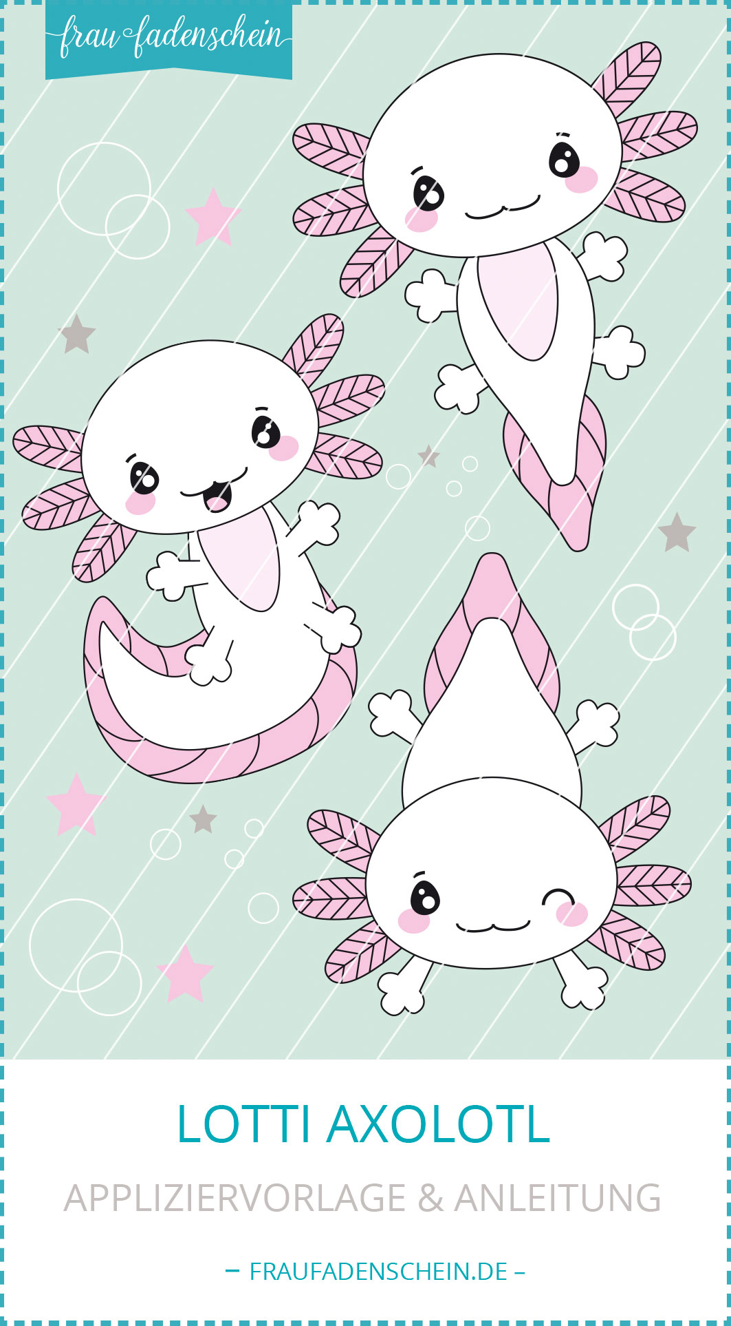 "Applikationsvorlage ""Lotti Axolotl"""