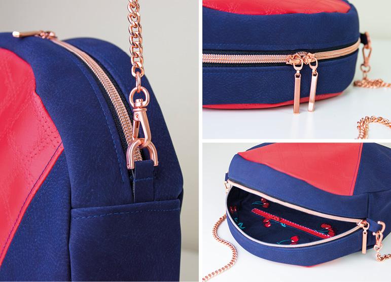 Neues Schnittmuster: Handtasche Ronda