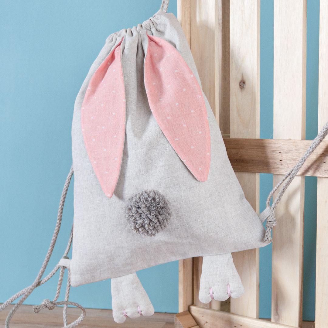 Bunny Bag nähen – Schnittmuster kostenlos