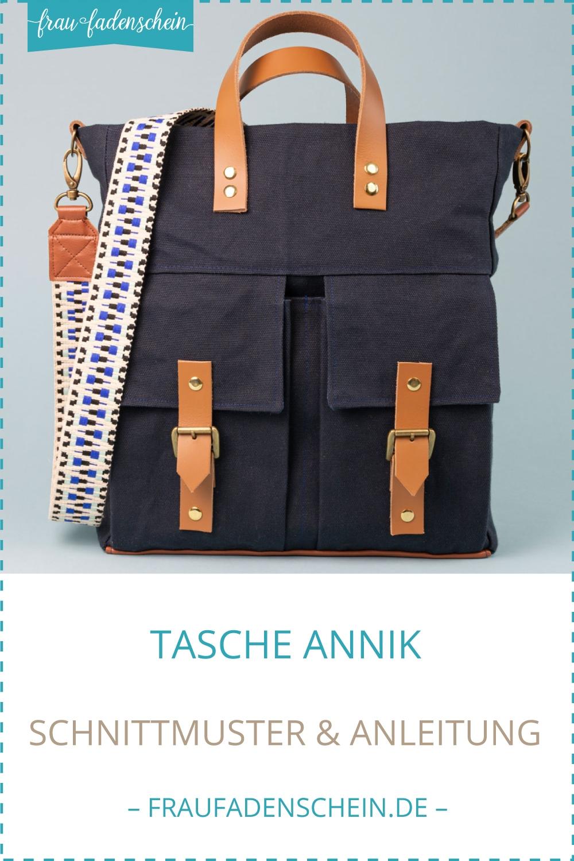 Schnittmuster Tasche Annik – Frau Fadenschein