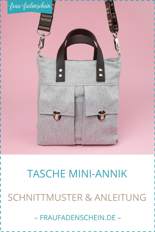 Schnittmuster Tasche Mini-Annik – Frau Fadenschein