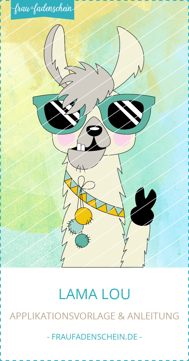 Applikationsvorlage Lama Lou