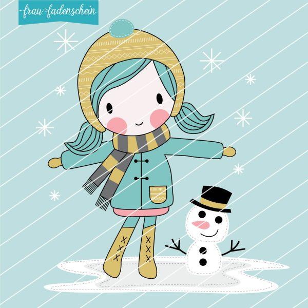 Applikationsvorlage, Mimi und der erste Schnee