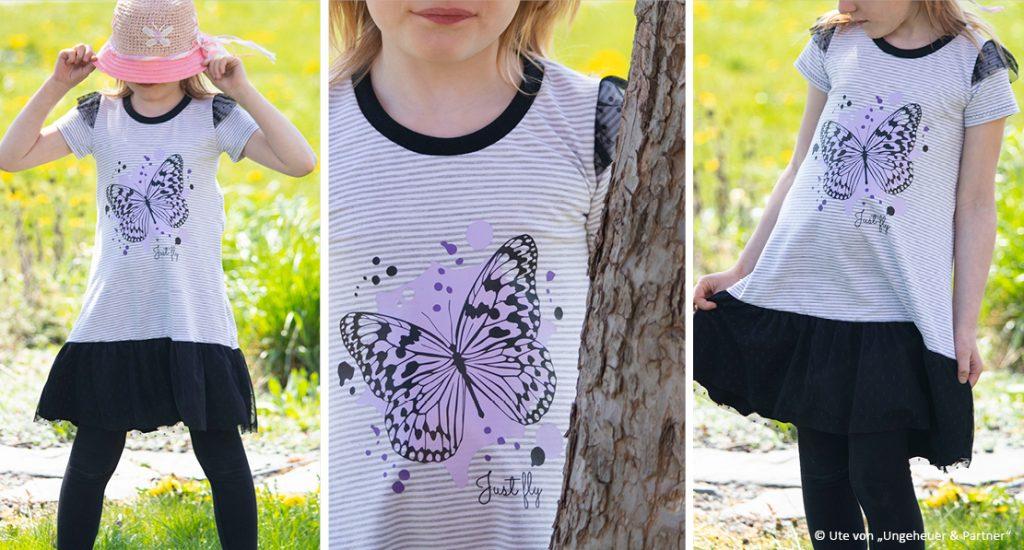 Plotterdatei Schmetterling Beispielbild