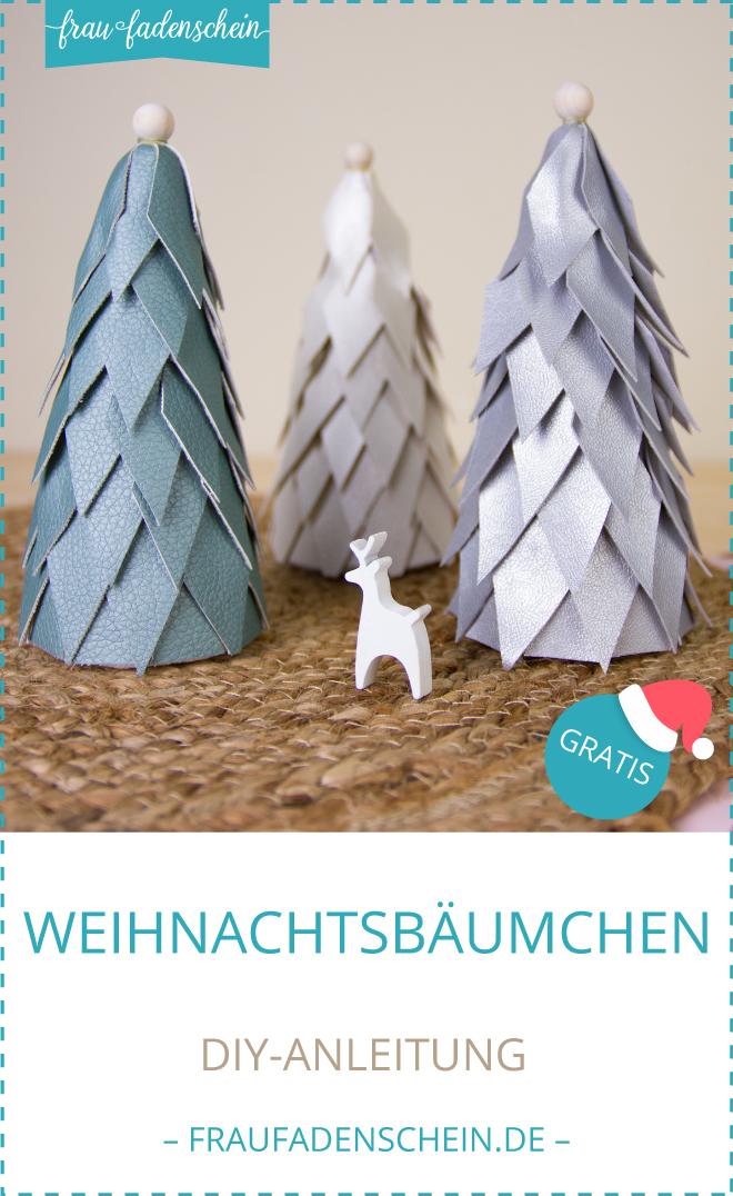 Frau Fadenscheins Adventszauber: Weihnachtsbäumchen basteln | DIY