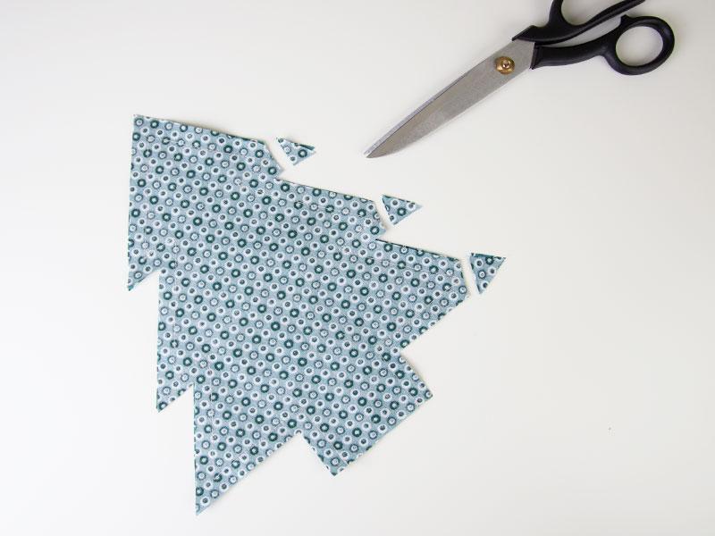Kostenloses Schnittmuster: Nadelbäumchen | Nadelkissen